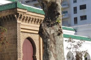Una calle de Marruecos