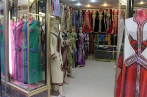 Tienda de ropa tradicional de mujer